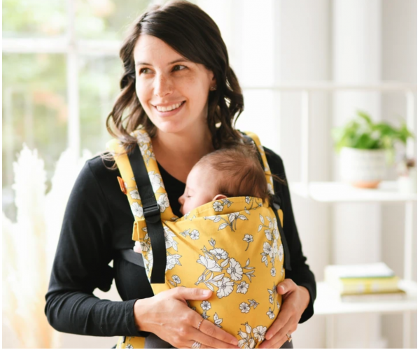 TULA - Porte Bébé Free To Grow Baby Carrier Blanche