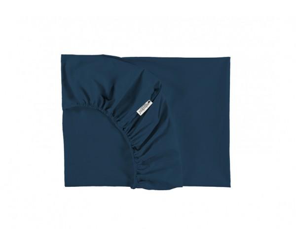 NOBODINOZ - TIBET SHEET BB 70X140X15 NIGHT BLUE