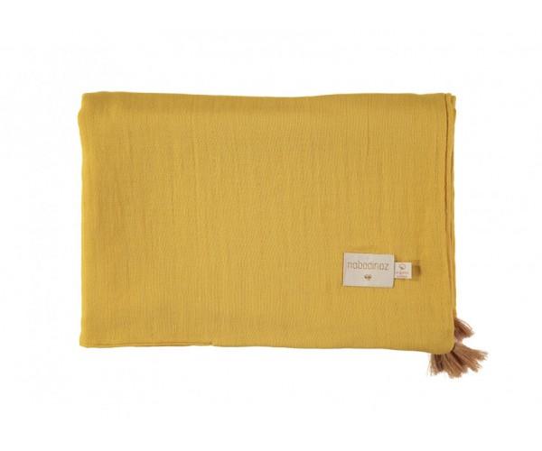 NOBODYNOZ - Treasure summer Blanket 100X70 Farniente Yellow