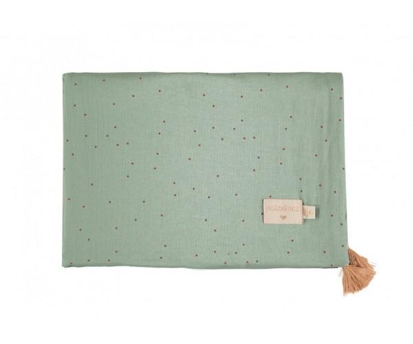 NOBODYNOZ - Treasure Summer Blanket 100X70 Toffee Sweet / Eden Green