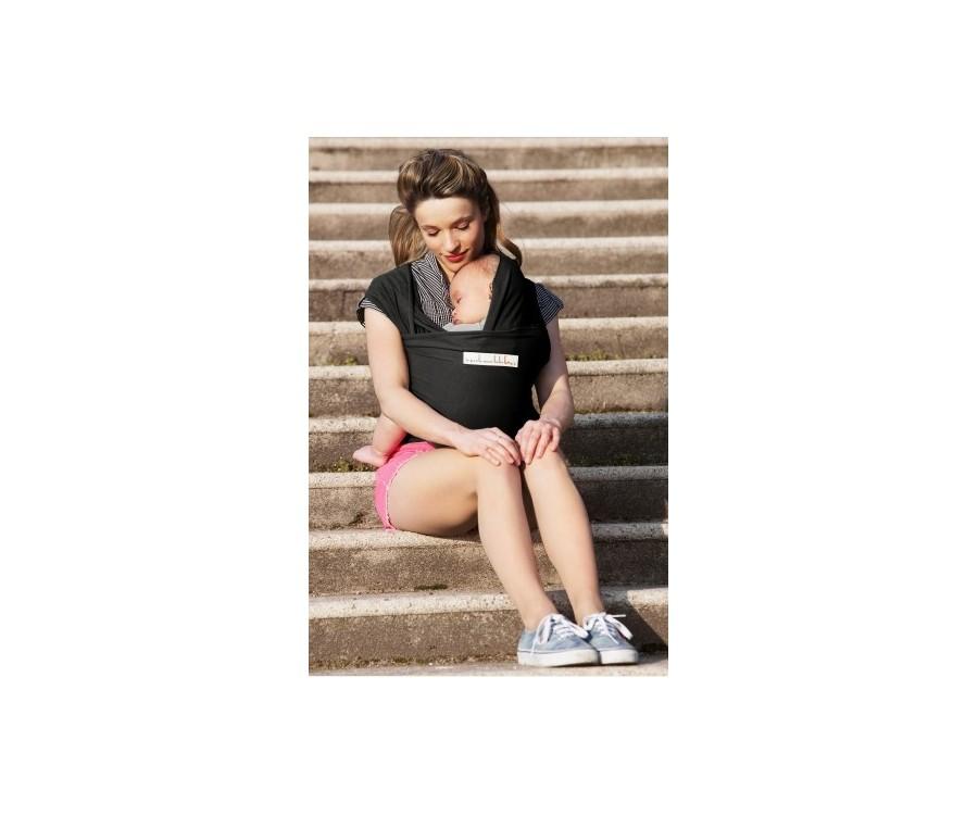 Echarpe de portage BASIC Presque noir - BBoVert - Vente