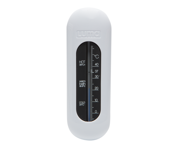 Thermomètre de bain Blanc Neige
