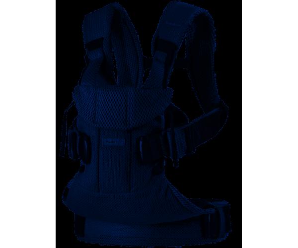 Porte-bébé One Air, Mesh 3D Bleu Marine