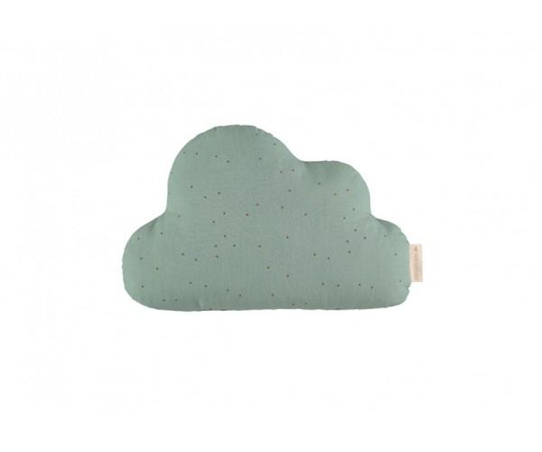 Nobodinoz - Coussin Cloud Eden Green